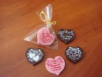 Шоколадные пригласительные, украшения, подарки на свадьбу