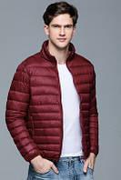 Куртка, тонкий пуховик (силикон)  весна-осень,  большой размер и стандартный  ХС-12ХЛ , фото 1