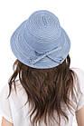 Женская панама голубая, фото 2