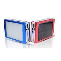 Зарядное устройство на солнечной батарее Smart Power Bank 30000mah+фонарик