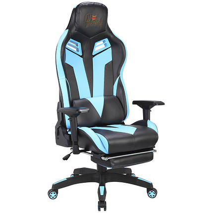 Кресло игровое Barsky Game Black/Blue BG-01, фото 2