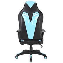 Кресло игровое Barsky Game Black/Blue BG-01, фото 3