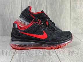 Кроссовки мужские черные Nike air max 2017 реплика, фото 2