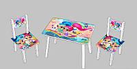 Детский стол и стулья Шиммер и Шаин