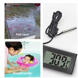 Термометр цифровий з виносним датчиком, фото 2