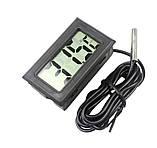 Термометр цифровий з виносним датчиком, фото 6