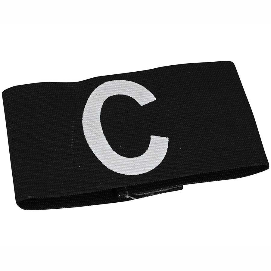 Детская капитанская повязка SELECT CAPTAIN'S BAND, черная mini, эластичная
