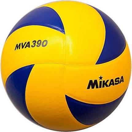 Мяч волейбольный Mikasa MVA 390 (оригинал), фото 2