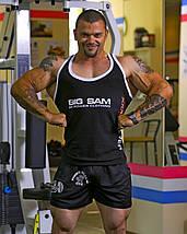 Майка для бодибилдинга Big Sam 2073, фото 3