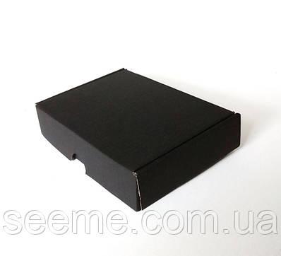 Коробка з мікрогофрокартону, 245х170х50 мм, колір чорний
