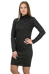 """Платье-гольф """"Monika"""",черный, размеры S-XXL"""