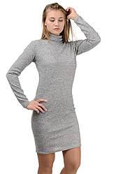 """Сукня-гольф """"Monika"""",світло-сірий, розміри S-XXL"""