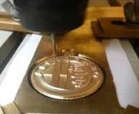 Порезка бронзы