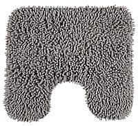 Коврик для туалета 50x45см серый