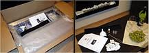 Биокамин ARCHIKART 1200 x 400, с стеклом,металлик, фото 3