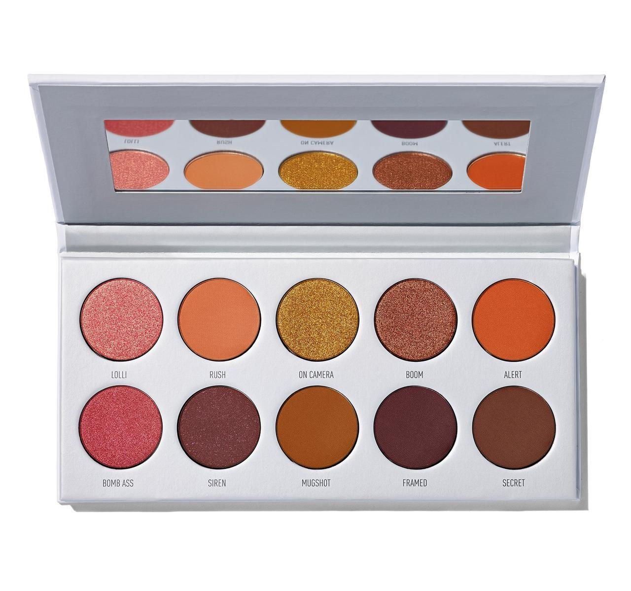 Палетка теней Morphe Ring The Alarm Eyeshadow Palette
