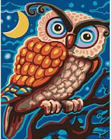 Картина по номерам Brushme Ночная сова