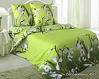 Ткань для постельного белья, 100% хлопок Подснежники