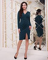 Стильное платье   (размеры 44-50)  0144-77