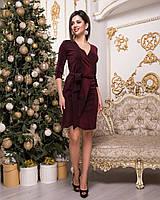Стильное платье   (размеры 42-48)  0144-78