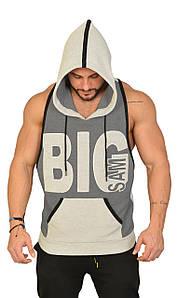 Безрукавка з капюшоном Big Sam 2265