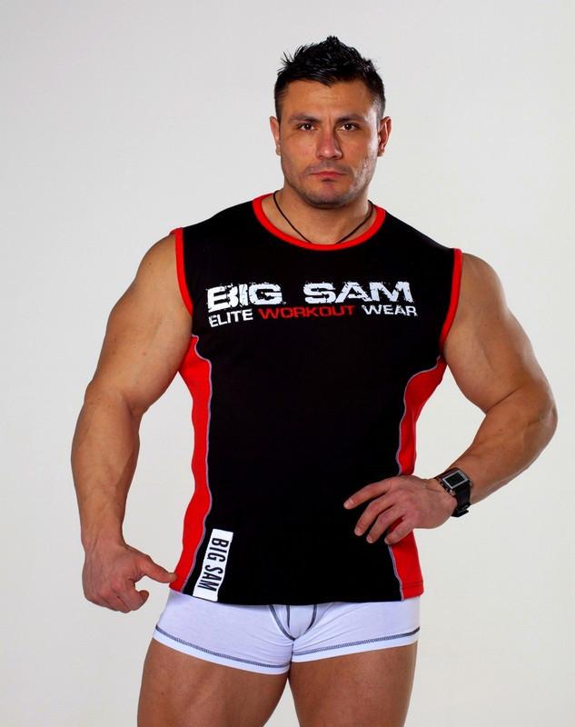 Безрукавка для фитнеса Big Sam 2272