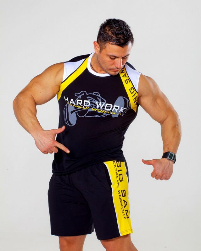 Безрукавка для фитнеса Big Sam 2134