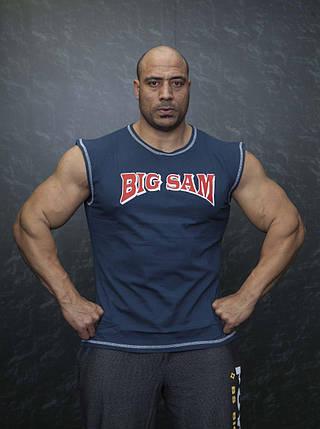 Безрукавка для бодибилдинга Big Sam 2032, фото 2