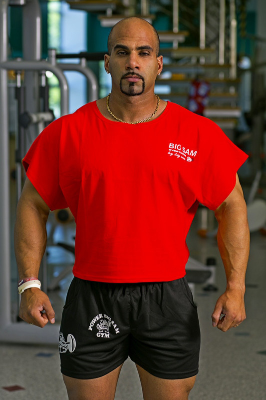 Топ-футболка Big Sam 3106