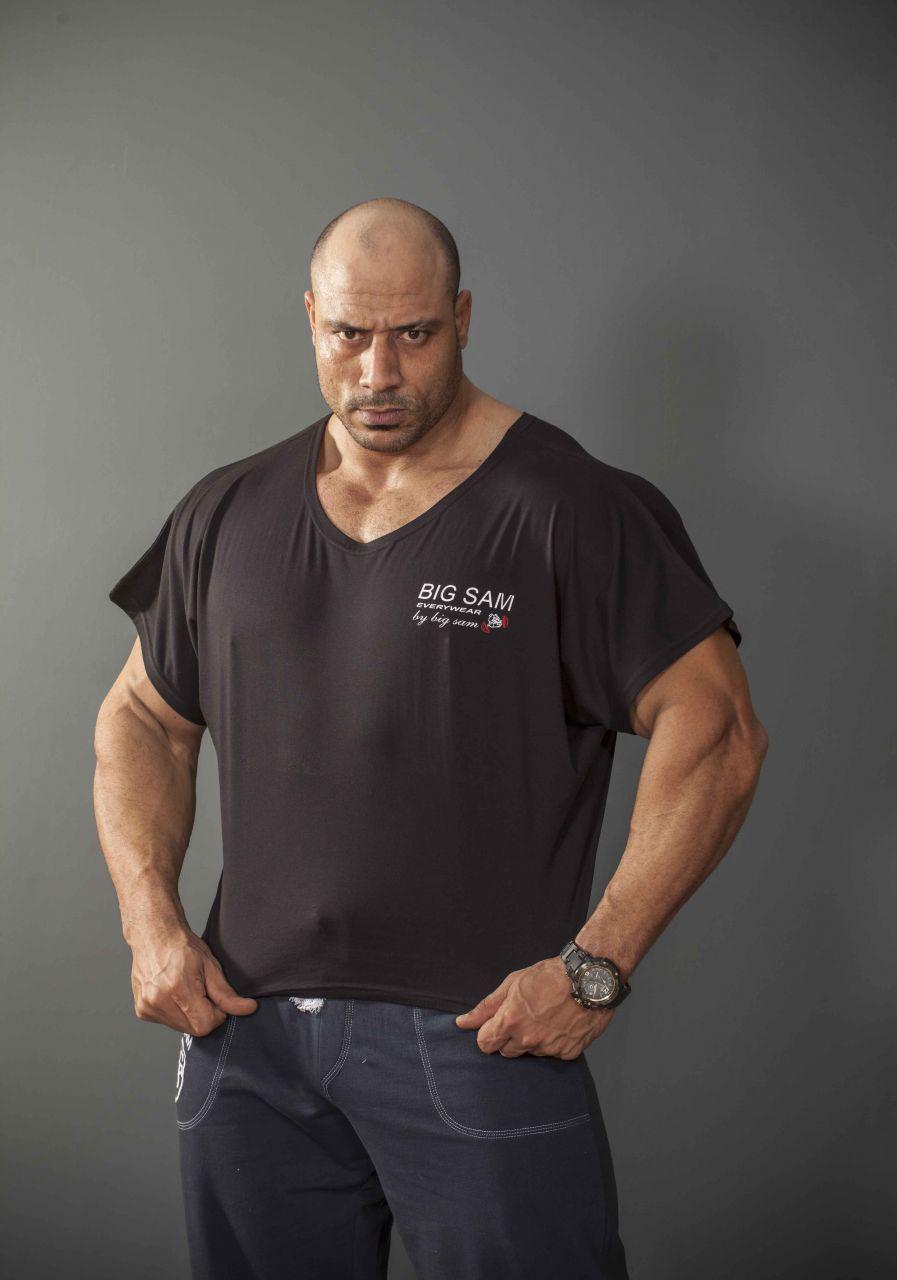 Топ-футболка Big Sam 3036