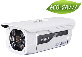 IP відеокамера Dahua DH-IPC-HFW5200P-IRA. 3Мп, CMOS, f=7-22, 0.01, Ік=100м, IP66, AWB, AGC, BLC