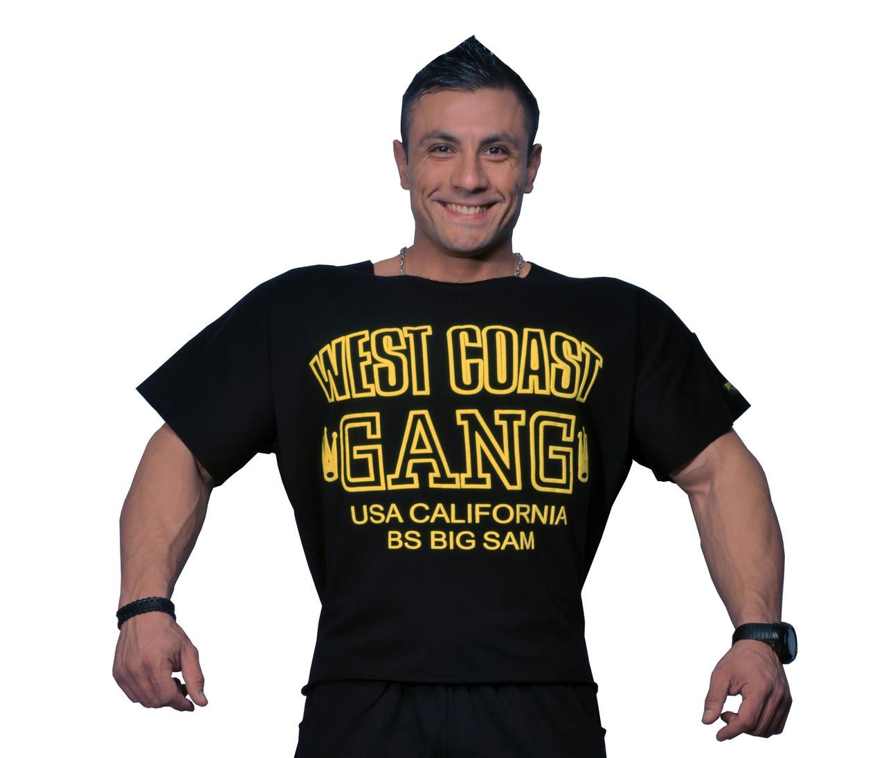Топ-футболка Big Sam 3033