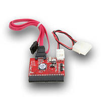 Переходник питания адаптер IDE to SATA / SATA to IDE для жесткого диска