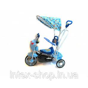 Детский велосипед трехколесный B 3-9 6012 Blue, фото 2
