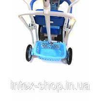 Детский велосипед трехколесный B 3-9 6012 Blue, фото 3