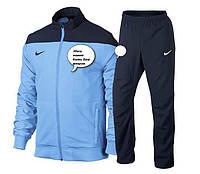 Спортивный костюм непромокаемый из плащевки на подкладке с нанесением логотипа команды. Куртку можно отдельно