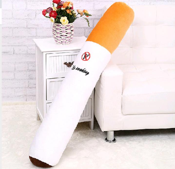 Оригинальная подушка в виде сигареты, 80см, Уникальный подарок со смыслом)