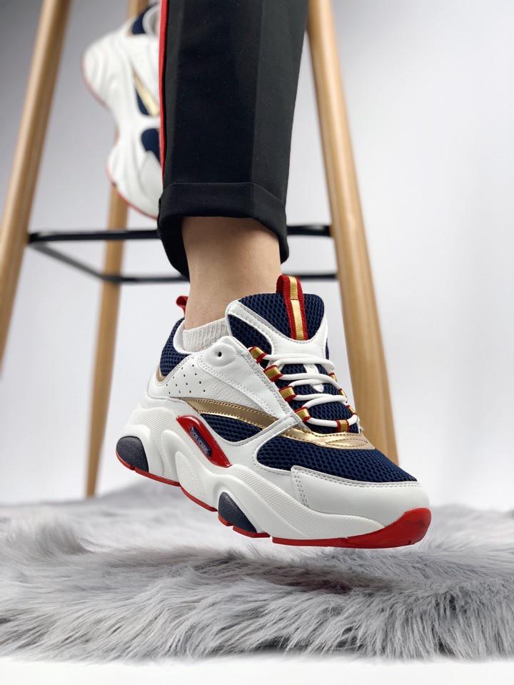 f806a7c52 Женские Кроссовки Dior Homme Sneakers WBR (Реплика Люкс), цена 1 960  грн./пара, купить в Харькове — Prom.ua (ID#865064763)