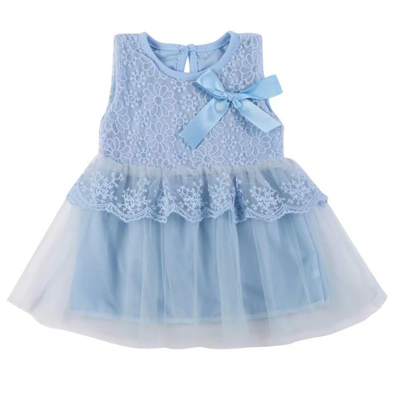 Кружевное платье для малышки размер 86.