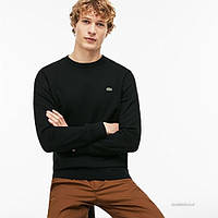 Свитшот Lacoste SVY Crew Neck Sweatshirt In Black