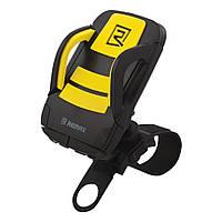 Велодержатель Remax RM-C08 Phone Holder for Bicycle чёрно жёлтый