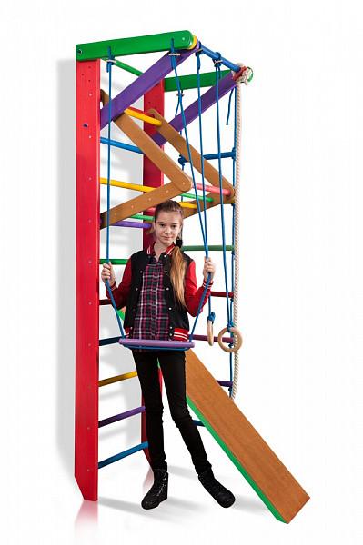 Спортивный уголок детская шведская стенка «Барби 3-240»