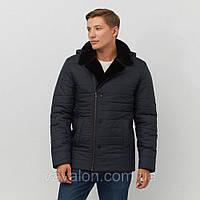 Куртка-косуха мужская зимняя на био-пухе, ТМ VAVALON, арт. 244 пух