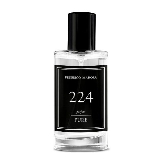 FM 224 Pure 50 мл Мужская парфюмированная вода Аромат Paco Rabanne Black XS (Пако Рабанн Блэк Иксс)