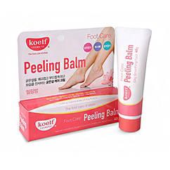 Пилинг-бальзам для грубой кожи ног, рук, локтей Koelf Peeling Balm