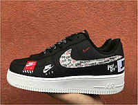 "Кроссовки Nike Air Force 1 Low Just Do It ""Black"" Арт. 3868"