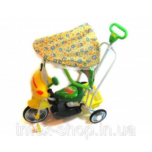 Детский велосипед трехколесный B 3-9 6012 Green