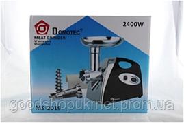 Электромясорубка Domotec  MS 2019  2400W + соковыжималка
