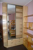 Корпусная мебель из массива ясеня, щита сосны