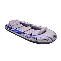 Надувная лодка гребная Intex 68324, 4-х местная